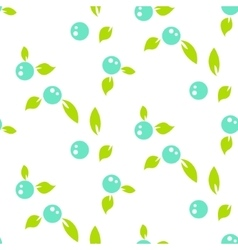Berry light seamless pattern white background vector