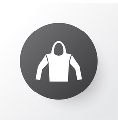 Hoodie icon symbol premium quality isolated vector