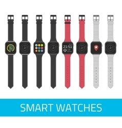 Smart watches vector
