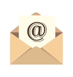 Web letter mail email vector