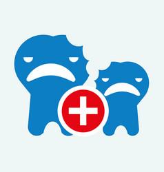 Dental care design health concept medical care vector