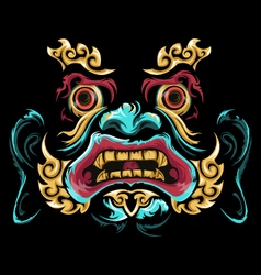 Chinese mask vector