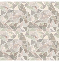 Abstract brown background with triangles vector