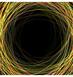 abstract colorful scribbles vector image