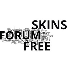 Free forum skins text background word cloud vector