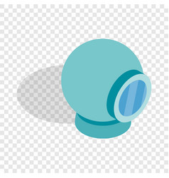 webcam isometric icon vector image