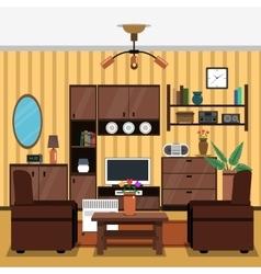 Interior Concept Flat vector image