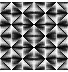 Design seamless square trellised pattern vector