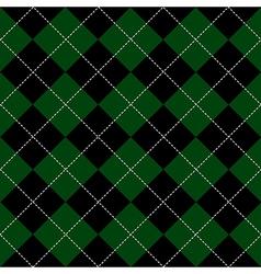 Green black diamond background vector