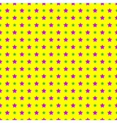 Mardi Gras stars Seamless Patterns vector image