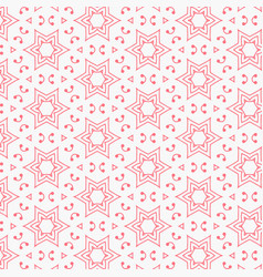 Pink line star pattern background design vector
