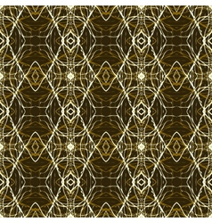 Rich and elegant pattern with gold silver lines vector