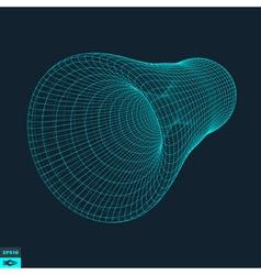 Lattice geometric polygonal element vector