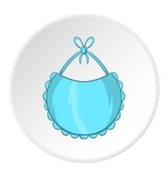 Bib icon cartoon style vector image