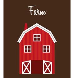 Farm stable vector