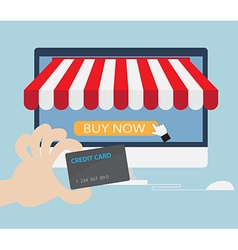 Online StoreOnline ShoppingE-commerce Concept vector image