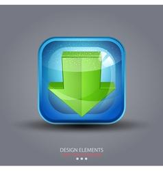 symbol icon download vector image