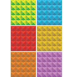 square patterns vector image
