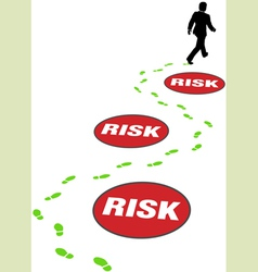 risk management business vector image