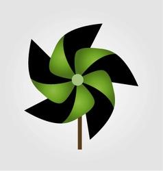 A pinwheel toy vector