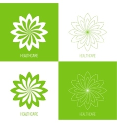 Abstract logo element vector image vector image