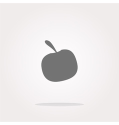 Apple Icon Apple Icon Object Apple Icon vector image