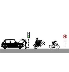 On green light vector