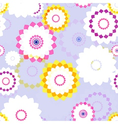 Spring aster flowers vector