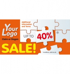Discount coupon vector