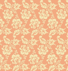 Roses pattern seamless flower wallpaper vector