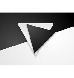 Black and white corporate background vector image