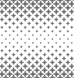 Black and white polygon pattern background vector