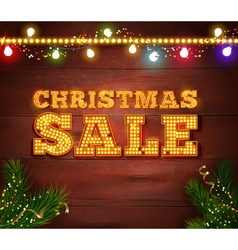 Christmas sale template vector