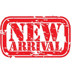 New arrival stamp vector image vector image