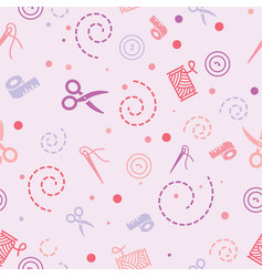 Pattern sewing color vector