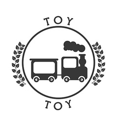 toy icon vector image