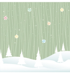 winter- christmas vector image