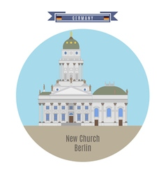 New church berlin vector
