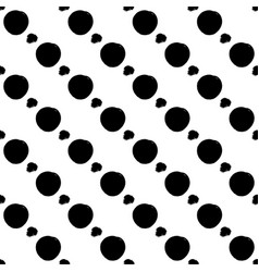 Seamless black and white pattern with abstract vector