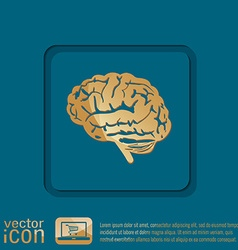 Brain mind and science vector