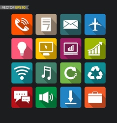 Website icons collection set 3 vector