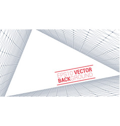 Wireframe polygonal landscape vector