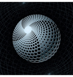 gravity sphere vector image