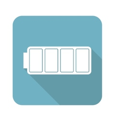Full battery icon vector
