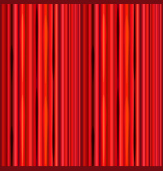Bright red curtain retro theater pattern vector