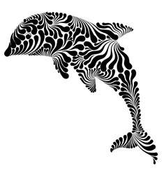Dolphin graphic vector
