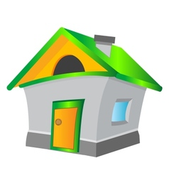 Lodge on white background vector image