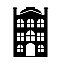 New house simple icon vector
