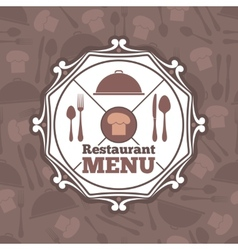 Restaurant menu template vector