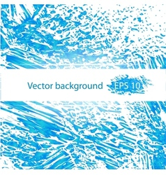 Deep blue water abstract background vector